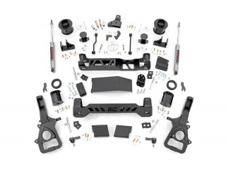 "Dodge RAM 1500 LHD (2019) 4WD Suspension Lift Kit 6"" Rough Country"