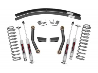 Jeep Cherokee XJ 3'' Suspension Lift Kit With N3 Shocks Rough Country
