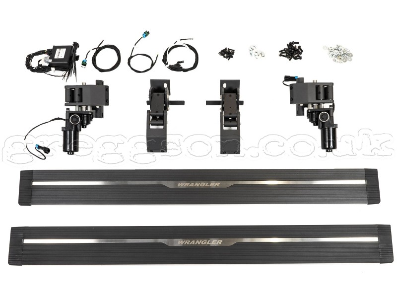 Jeep Wrangler Jl 2d Running Boards Electric Side Stepz
