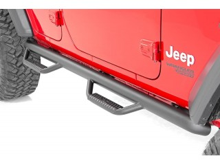 Jeep Wrangler JL 4D Nerf Side Steps Rough Country