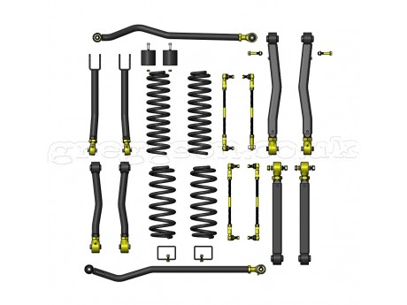 "Jeep Wrangler JL 2.5"" Lift Kit Suspension Premium Clayton"