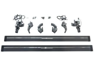 Jeep Wrangler JK 4 Doors Running Boards Electric Side StepZ Plug N' Play
