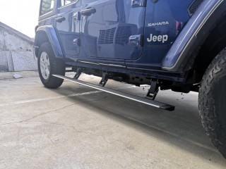 Jeep Wrangler JL 4 Doors Running Boards Electric Side StepZ Plug N' Play