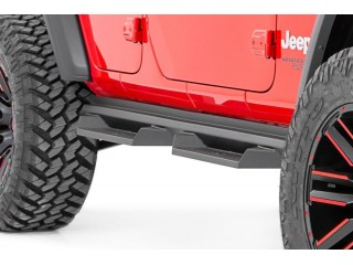 Jeep Wrangler JL (4 Doors) Side Steps DS2 Rough Country