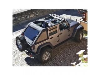Jeep Wrangler JL 4 Door Roof Cover Fastback Bowless