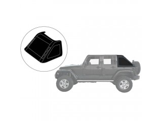 Jeep Wrangler JL 4 Door Cargo Window Cover Fastback