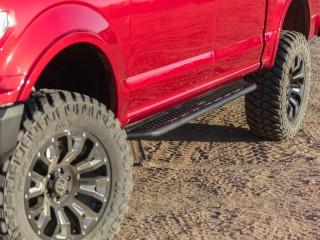 Volkswagen Amarok Double Cab (2016-2018) Steel Side Steps Dominator D6 Go Rhino