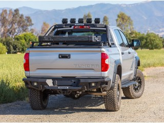 Toyota Hilux (2016-2019) Steel Rear Bumper BR20 Go Rhino