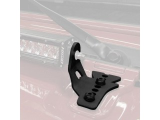 "Jeep Wrangler JL 30"" LED Bar Hood Hinge Mount Go Rhino"