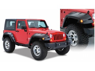 Jeep Wrangler JL Front and Rear Fender Flares Pocket Bushwacker Style