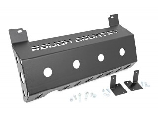 Jeep Wrangler JL Muffler Skid Plate Rough Country