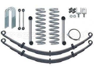 "Jeep Cherokee XJ 3,5"" Lift Kit Pro Suspension Rubicon Express"