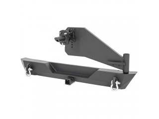 Jeep Wrangler JL Rear Trail Bumper With Tire Carrier Rough Country
