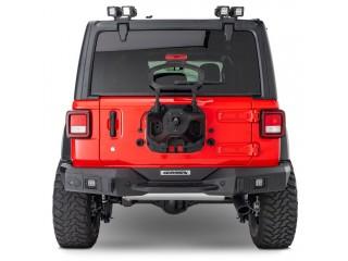 Jeep Wrangler JL Rockline Rear Full Width Bumper Go Rhino