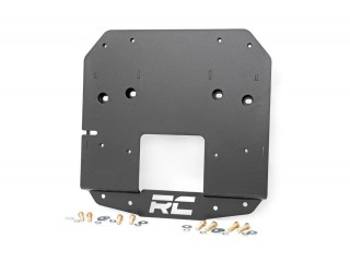 Jeep Wrangler JL Spare Tire Relocation Bracket Rough Country